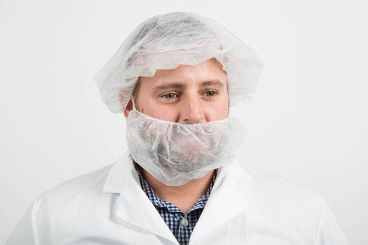 Fisherbrand beard cover